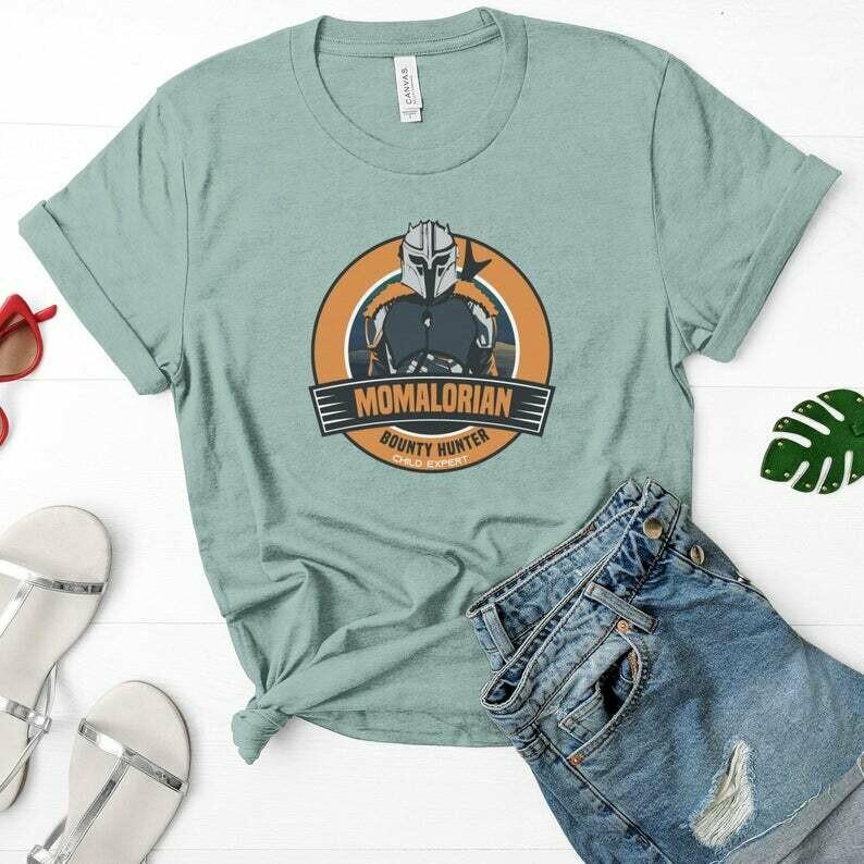 Mandalorian Shirt, Baby Yoda Shirt, Star Wars Mom, Disney Mom Shirt, Momalorian