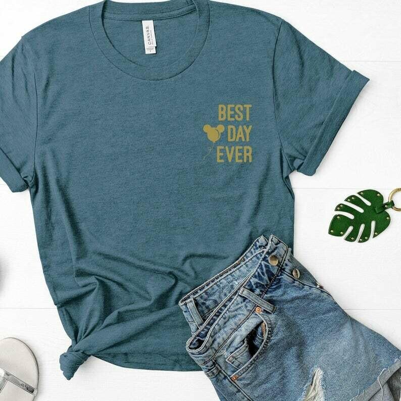 Best Day Ever Shirt, Magic Kingdom Shirt, Simply Disney Tee