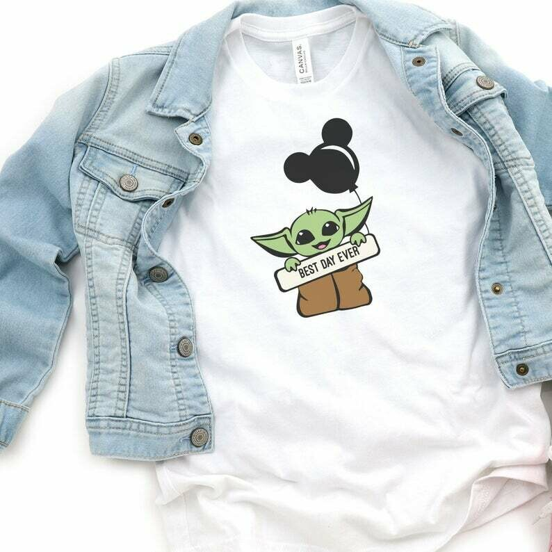 Baby Yoda Shirt, Best Day Ever, Disney Family Shirt