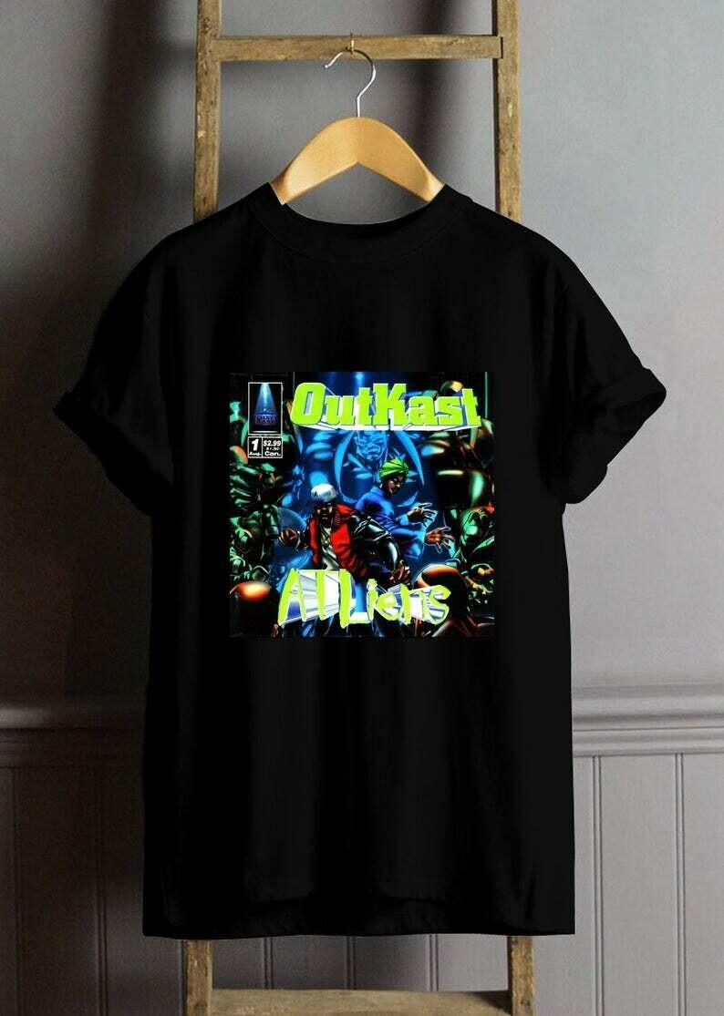 Outkast Atliens T Shirt, Outkast Shirt, Outkast Tees, Outkast Clothing Best Seller