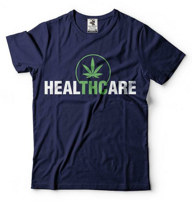 Marijuana T-Shirt Funny Cannabis Weed Joint Pot Smoker Tee Shirt