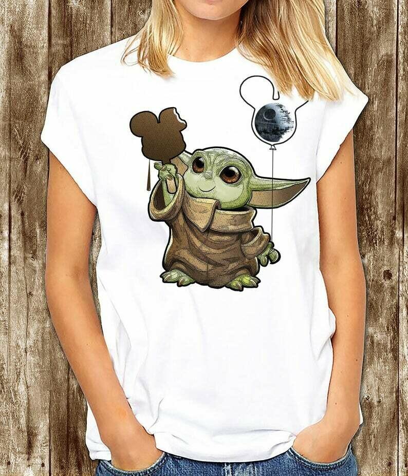 Baby Yoda - Disney shirt, Galaxy's Edge Shirt, Star Wars Mickey, Best day ever Disney shirt, Jedi Yoda