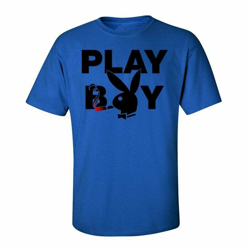Classy Playboy Bunny , Tees Graphic Funny Generic Novelty Unisex T-Shirt, Fashion High End dtg Printing Playboy Magazine