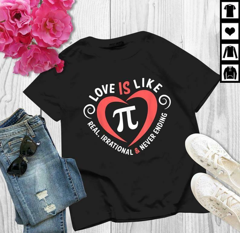 Pi Day Love Is Like Pi Valentines Math Teacher Gift