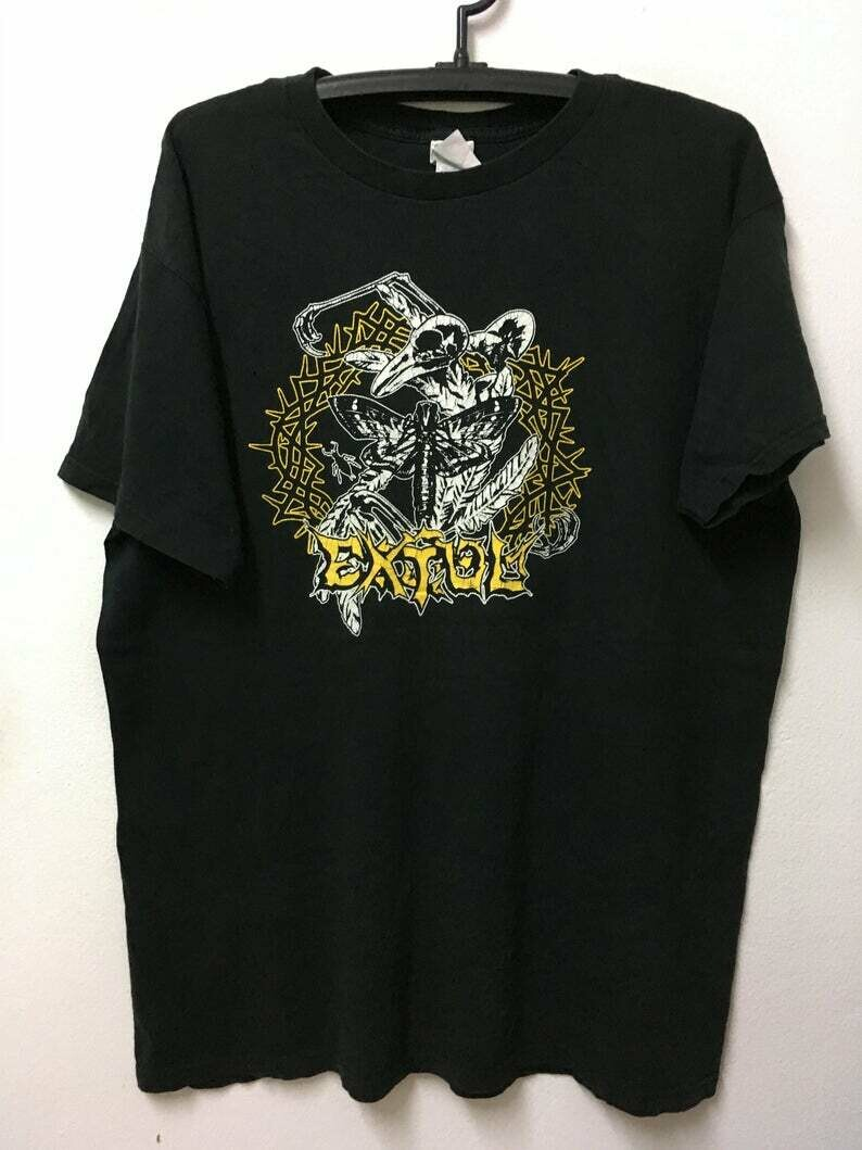 "Vintage90s Extol Band Progressive Christian Metal /T-shirt/Xl 24"""