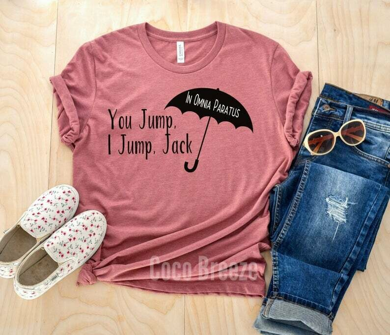 You jump I jump Jack - unisex tshirt. Gilmore girls tv show, gilmore girls tee, luke's diner shirt, gilmore shirt, lukes shirt, rory