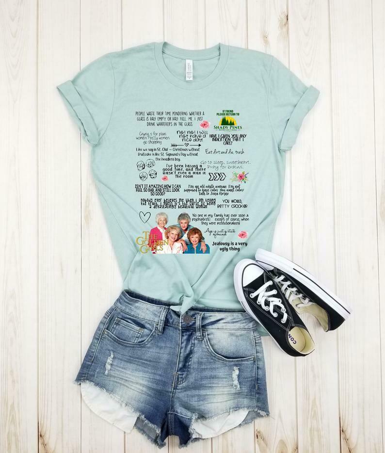 Golden Girls Quote - Shirt, Golden Girls Shirt, Golden shirts, Stay Golden, Golden Girls Gift, Rose, Blanche, Dorothy, Sophia, plus size