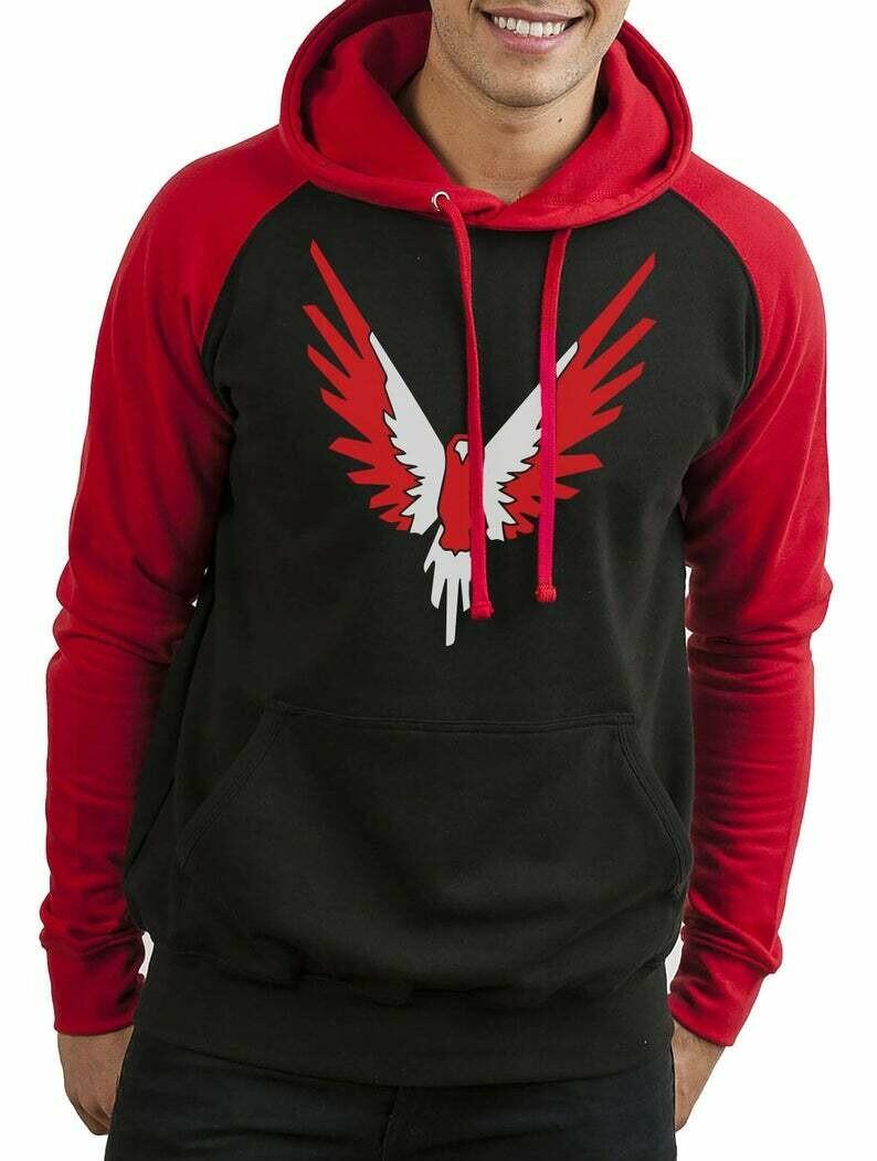 Red Maverick Inspired Logan Paul Hoodie You Tube Blogger Logang Jumper Hoody