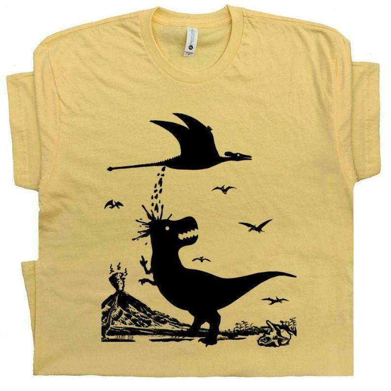 T Rex T Shirt Funny Dinosaur Shirt Saying Jurassic Retro National Park Shirts Pterodactyl T Shirt Mens Womens Kids Vintage Dinosaur T Shirt