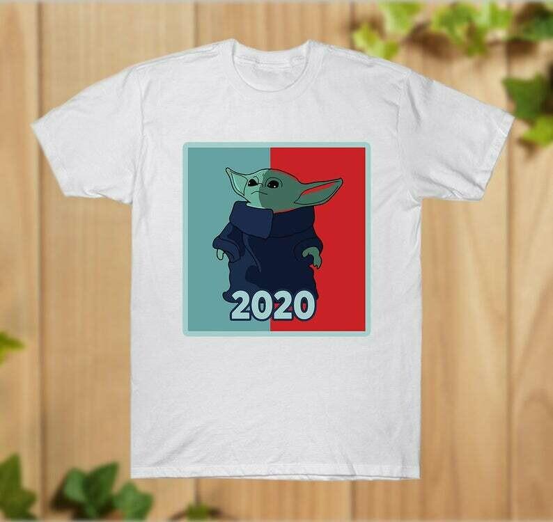 Baby Yoda Mando _20 this is the way master The Mandalorian with death Star Wars Movie USA Flag T-Shirts Baby Yoda Hoodie - hung09032020