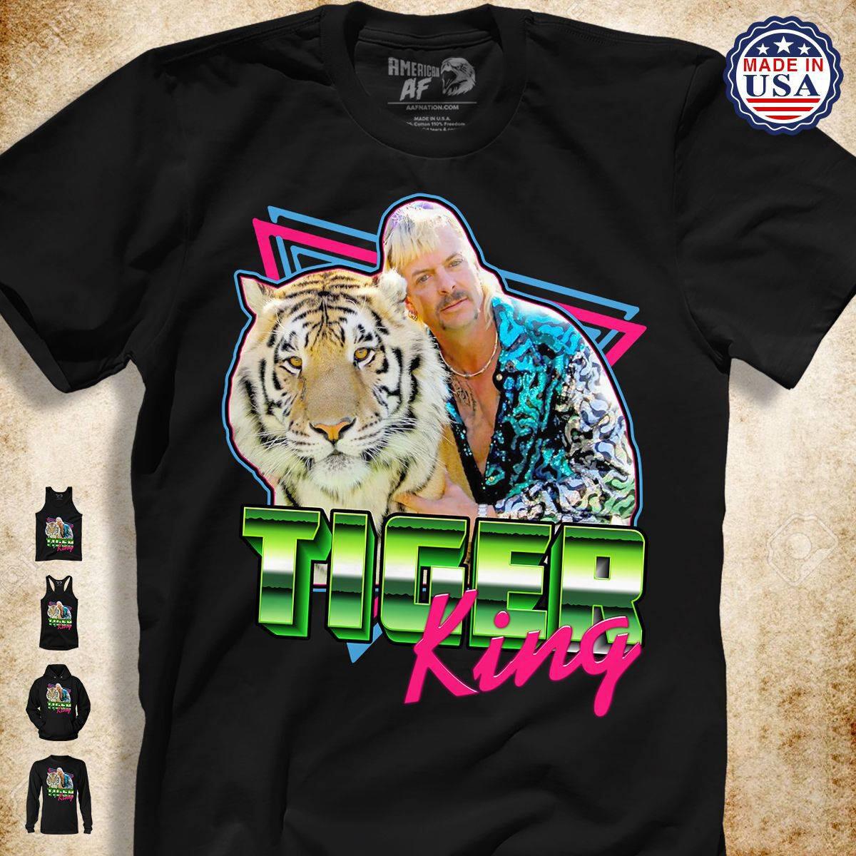 Tiger King , Free Joe Exotic Tiger King Tv Show Animal Rights Animal Trade Fan T Shirt