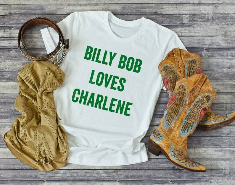 Country Music Shirt, Billy Bob Loves Charlene, Joe Diffie, 90s Country Shirt, Country Music Shirt For Men, Country Music Shirt Women