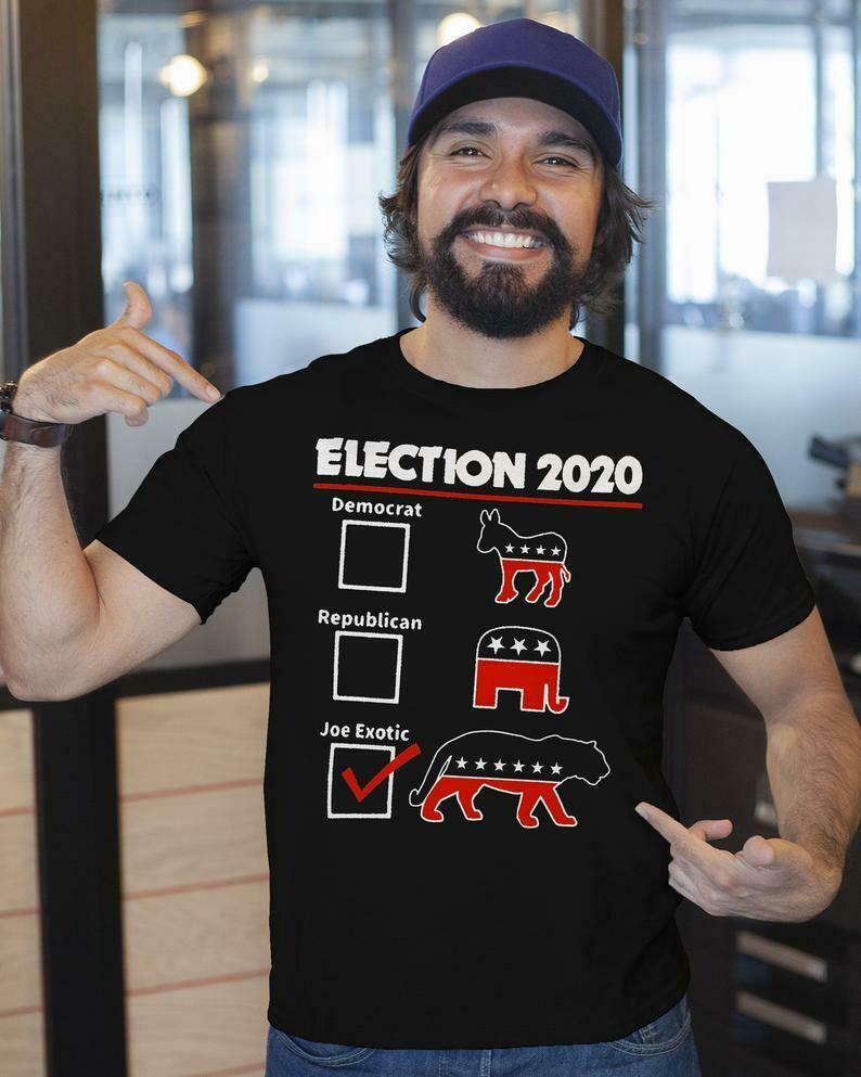 Joe Exotic for President 2020 T-shirt | Joe Exotic Tee,Tiger King T-shirt,Joe Exotic For President,Election 2020 Shirt,Joe Exotic Tiger Tee
