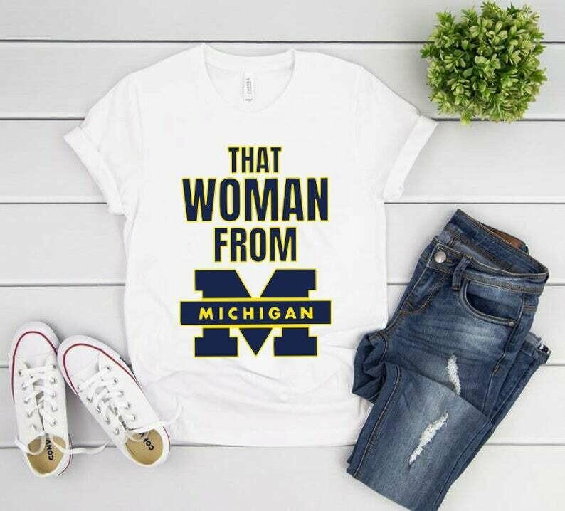 That Woman From Michigan Shirt, Gretchen Whitmer Shirt, That Lady From Michigan, Social Justice, I Stand With That Woman From Michigan Tee