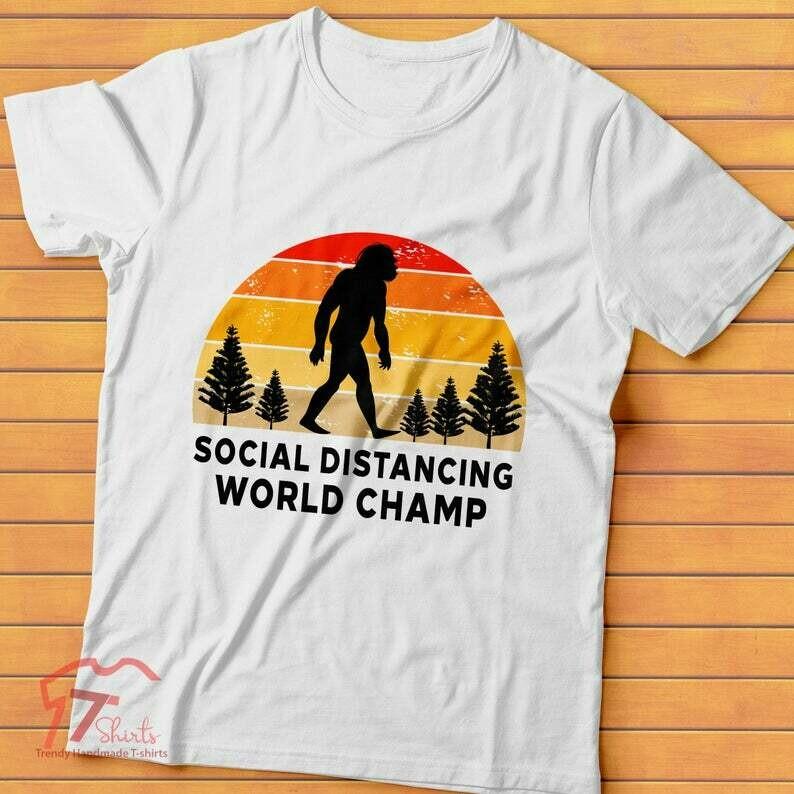 Social Distancing Shirt, Quarantine Shirt, Introvert T-shirt, Quarantine 2020, Social Distancing Funny Anti-social Introvert T-shirt