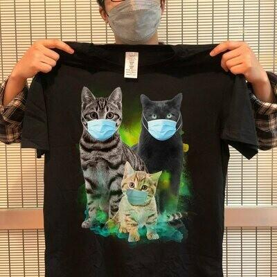 Funny Cats Quarantined 2020 Cat Lovers T-shirt