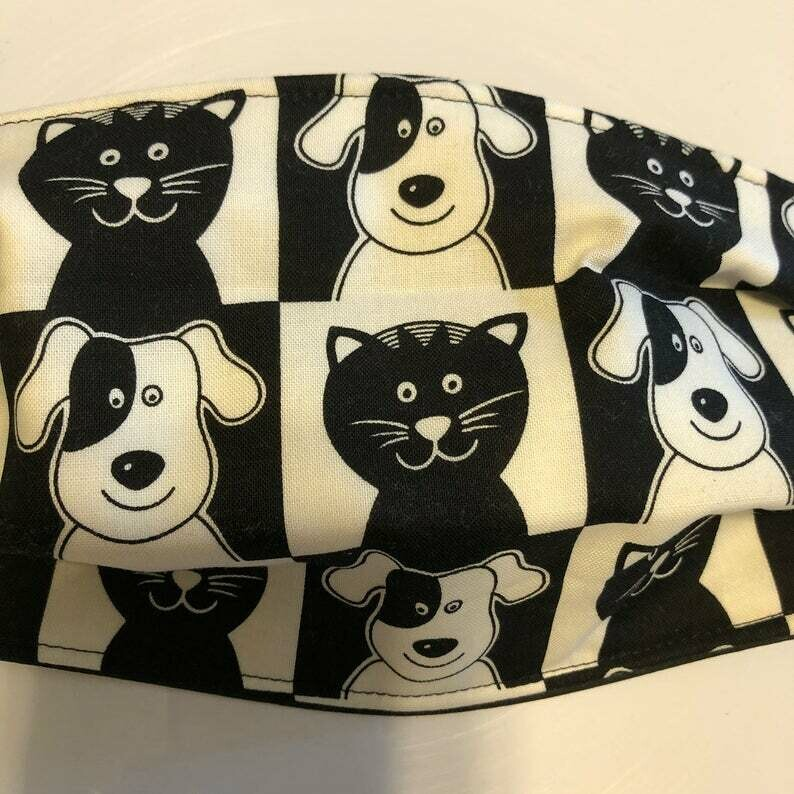 FACE MASK - Dogs and Cats