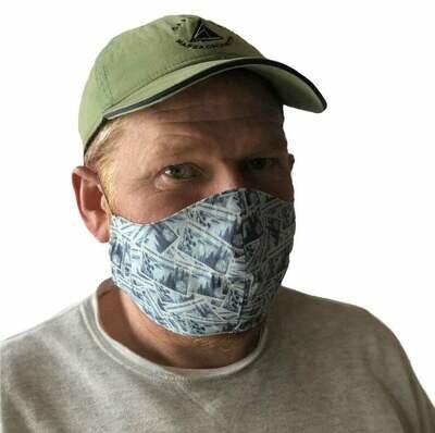 Minnesota theme Ships Fast! Cloth, Fabric Washable Face Mask, Handmade
