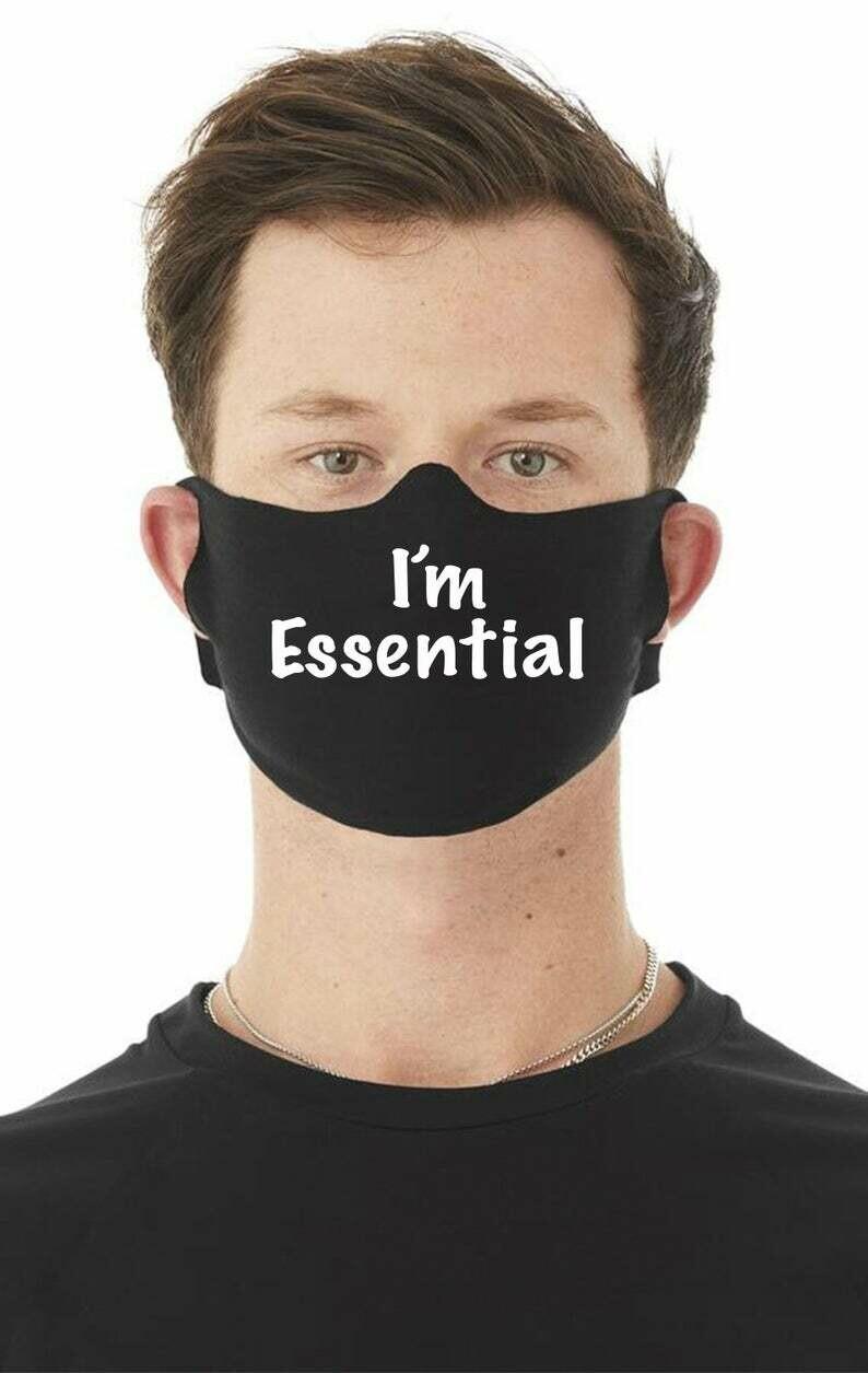 Face Mask - I'm Essential