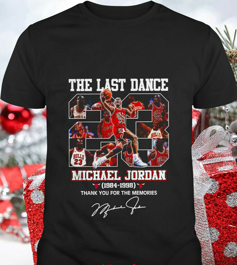 Michael Jordan championship Tshirt 2020