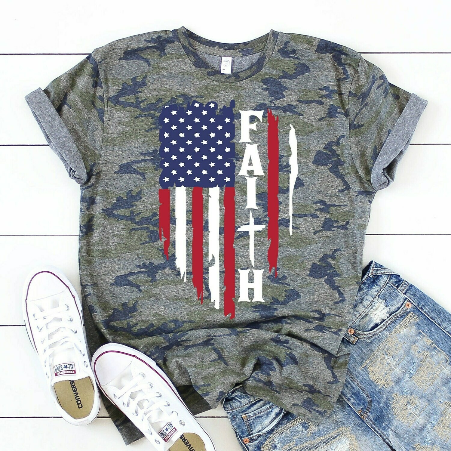 American Faith Tee Shirt