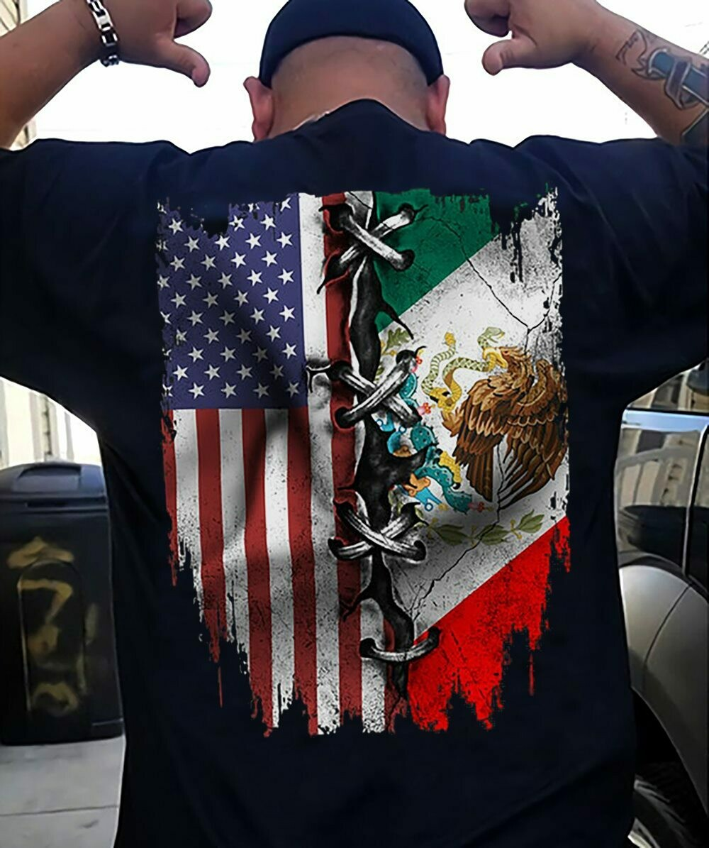 Mexican And American Shirt