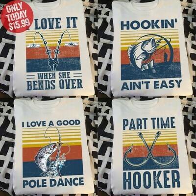 Go fishing shirt
