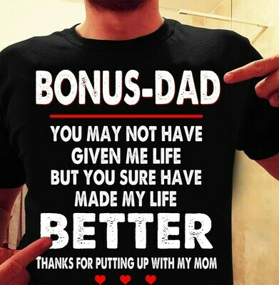 BONUS DAD SHIRT