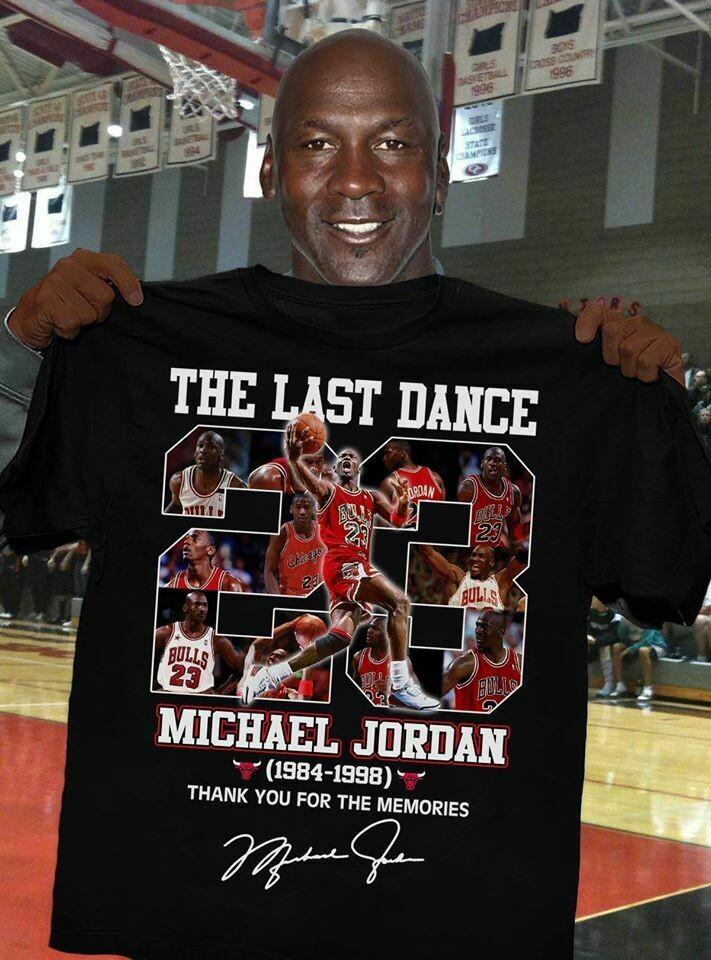 Michael Jordan Shirt, The Last Dance Shirt