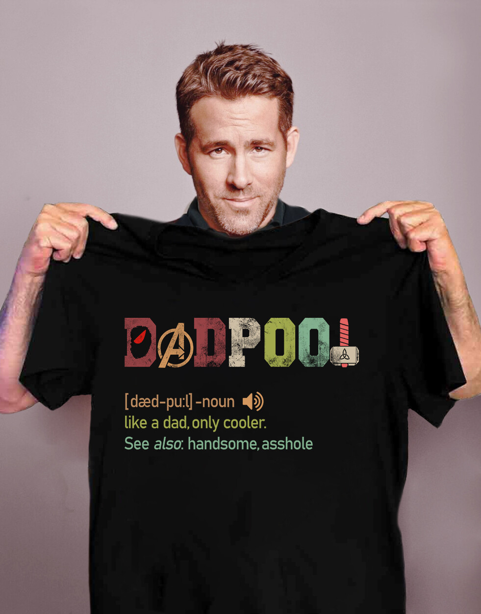 Deadpool Like A Dad Only Cooler Shirt