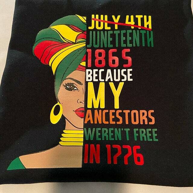 Juneteenth Woman; Juneteenth Day; Juneteenth Shirt