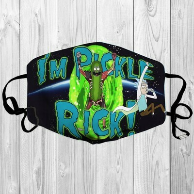Rick and Morty I'm Pickle Rick! Face Mask