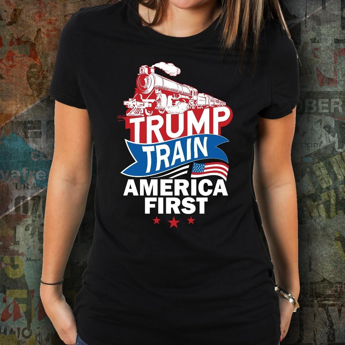 Premium Trump Train America First shirt
