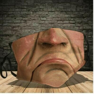 Jeff Dunham Walter Face Mask