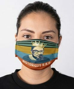 Ruth Bader Ginsburg notorious r.b.g face mask