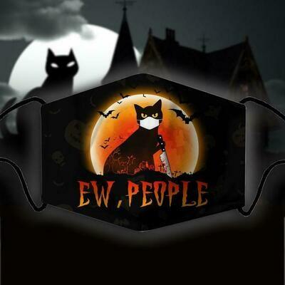 face mask cat halloween, cat halloween, pumpkins cat halloween, halloween theme masks, face mask cat and pumpkins, cat and pumpkin black mask