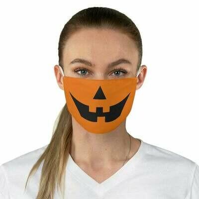 Pumpkin Jack-o-Lantern Face Mask | Fun Halloween face mask, Covid mask