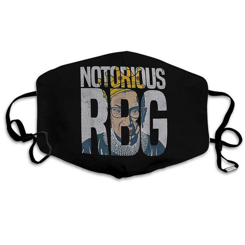 NOTORIOUS RBG Face Mask - Girl Power mask