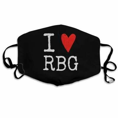 I love RBG Ruth Bader Ginsburg the notorious RBG Mask