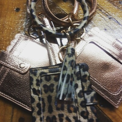 Braclet Keychain with Card Holder