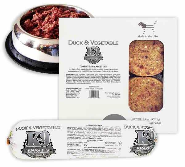 Duck & Vegetable *30lb Case