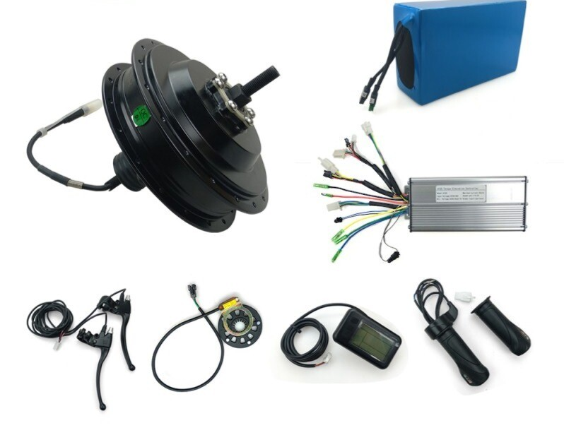 Bafang 48V500Watts Driving Hall Sensor Motor E-Bike Kit, With A battery And Parts