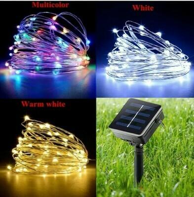 Solar decoration lights, 200 LEDs 72FT
