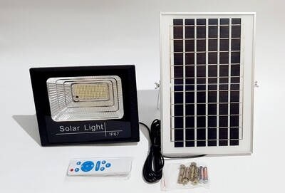 40W 164 LED Solar flood light, Dusk to Dawn