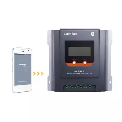30A MPPT Solar Charge Controller 12V/24V - Bluetooth communication