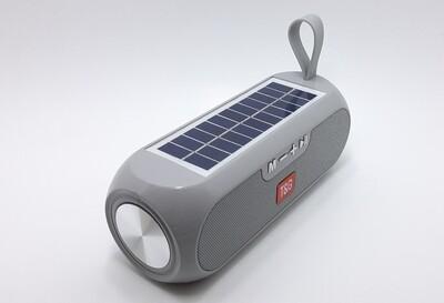 Solar bluetooth speaker with FM radio
