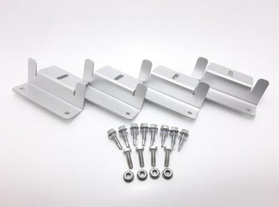 Solar panel Aluminum mounting brackets
