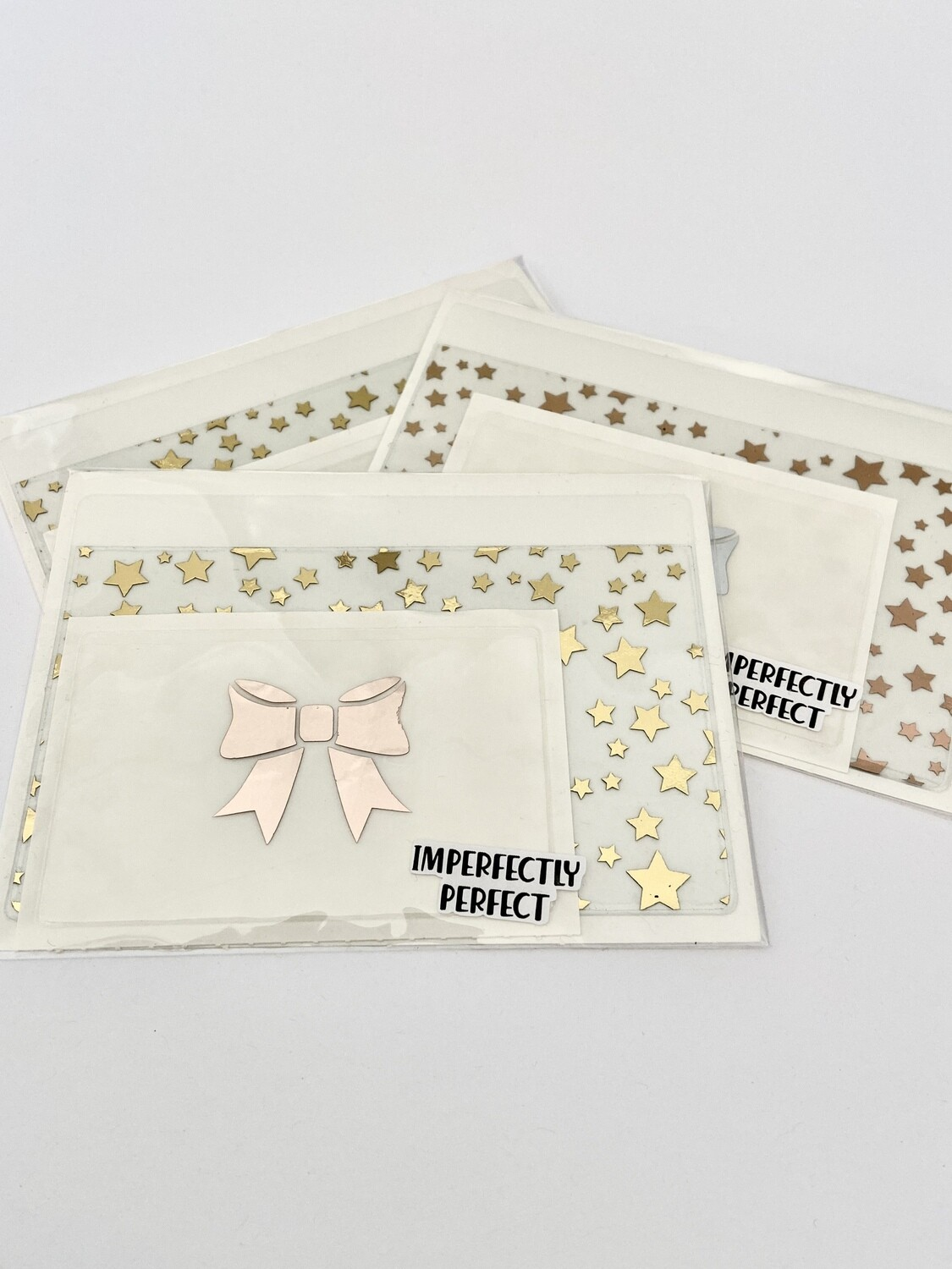Imperfectly Perfect Adhesive Pockets