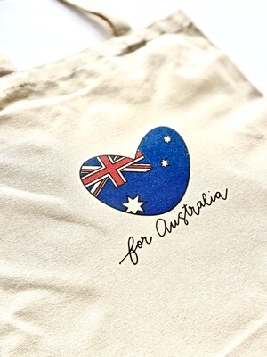 mika+michi Save the Australian Wildlife Tote Bag *PRE-SALE*