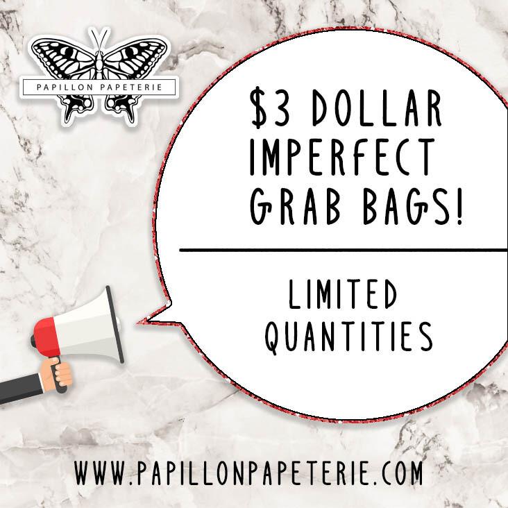 $3 Imperfect Grag Bag!
